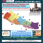 15th Annual Nepal Lecture, 23 Nov 2017