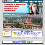 16th Annual Nepal Lecture, 01 Nov 2018